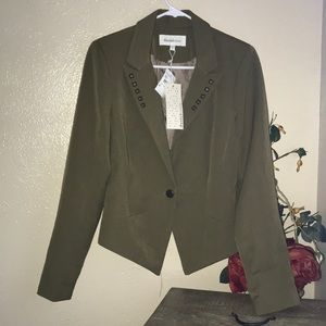 NWT Daniel Rainn Blazer Jacket Medium Army Green